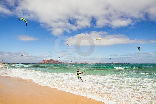 the best Corralejo kitesurf school