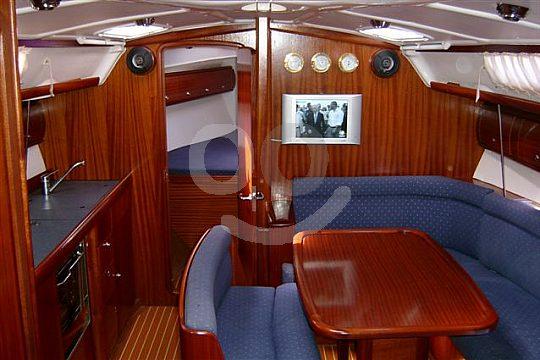 luxurious sailing yacht
