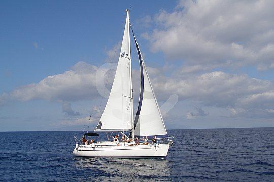 Tenerife sailing boat charter