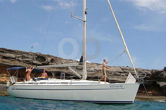 charter a sailing boat in Tenerife