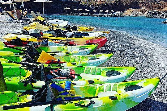 Crete Kayak Tour Equipment