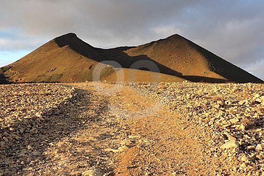 volcanos on the Fuerteventura hike