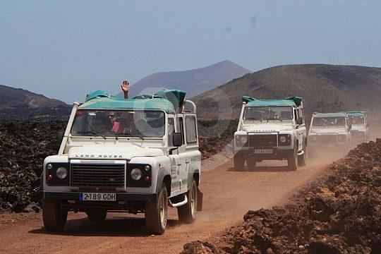 exploring Lanzarote with a jeep