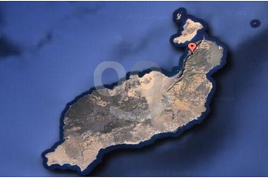 Location of the zoo in Lanzarote