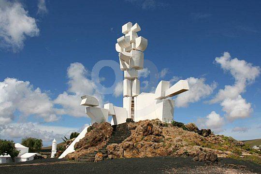 Farm monument of César Manrique on Lanzarote