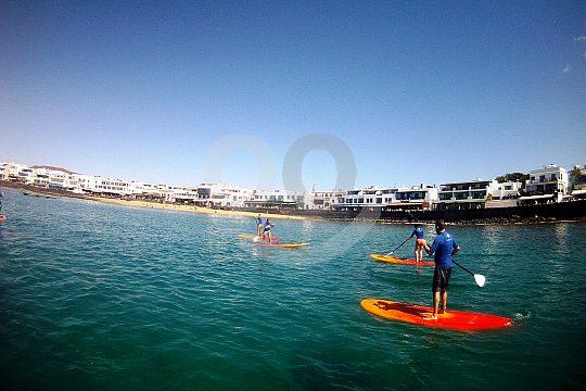 Course Paddle Surf Lanzarote