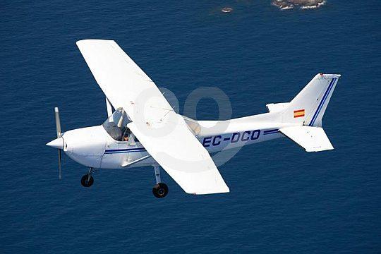 small airplane in Empuriabrava sightseeing flight