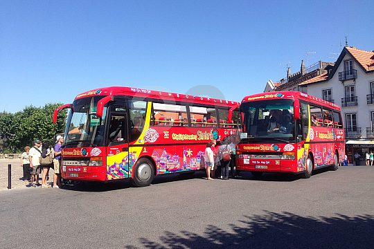 Sightseeing per Bus in Sintra