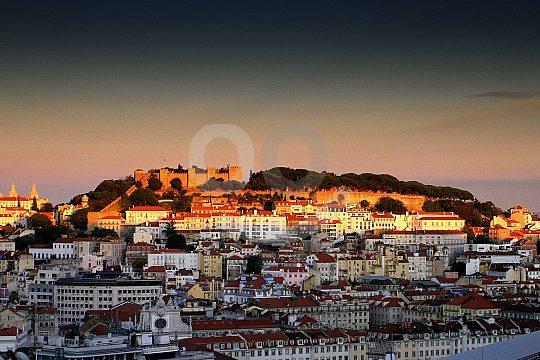 Lissabon Stadtbesichtigung im Tuk Tuk