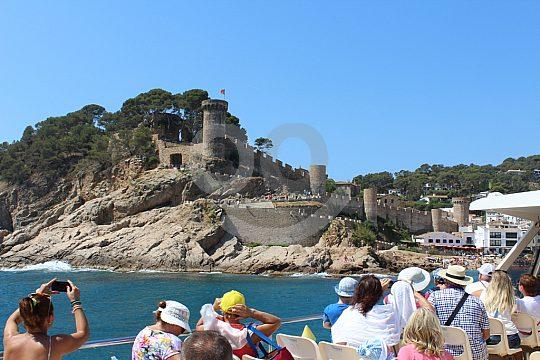 Costa Brava round trip by boat