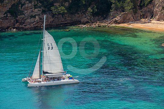 Lloret de Mar catamaran tour