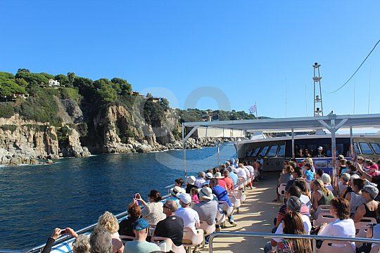 boat trip from Lloret de Mar