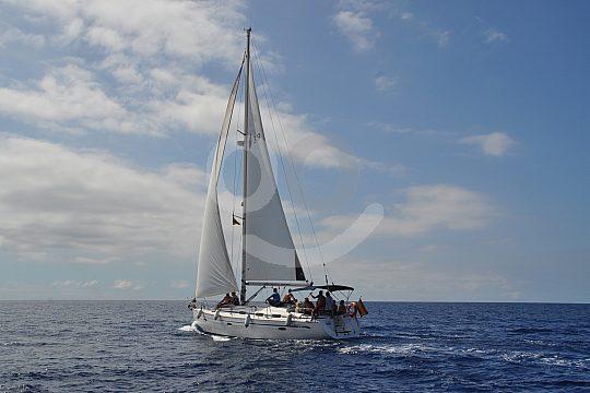 Tenerife sailing cruise