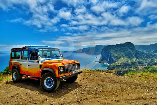 the original Jeep Safari on Madeira