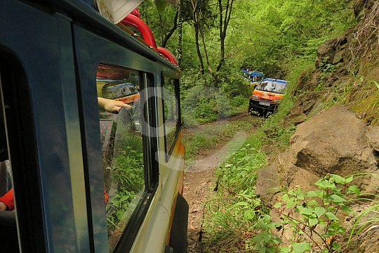 on Jeep Safari in Madeira