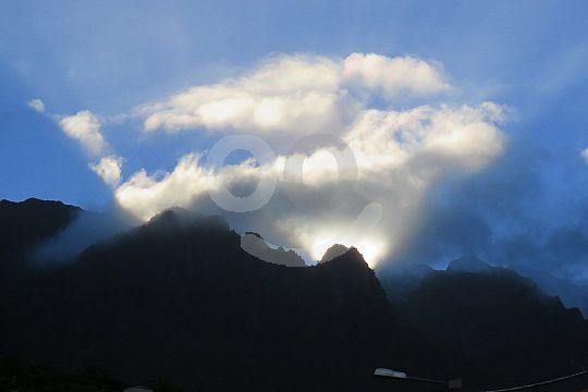 clouds over Madeira