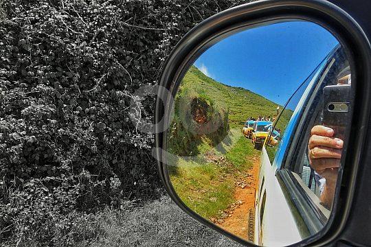 through the southwest of Madeira