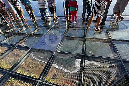 Viewing platform at Cabo Girao