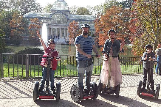 drive a Segway in Madrid