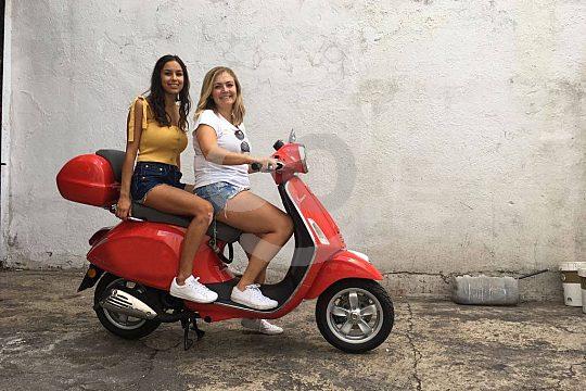 economic scooter rental in Madrid
