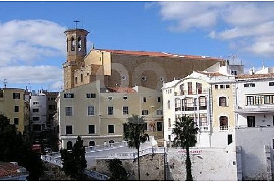 City-sightseeing of Mahon at the Menorca island tour