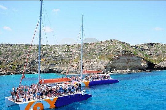 Catamaran party boat trip