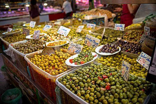 Marktbesuch in Malaga