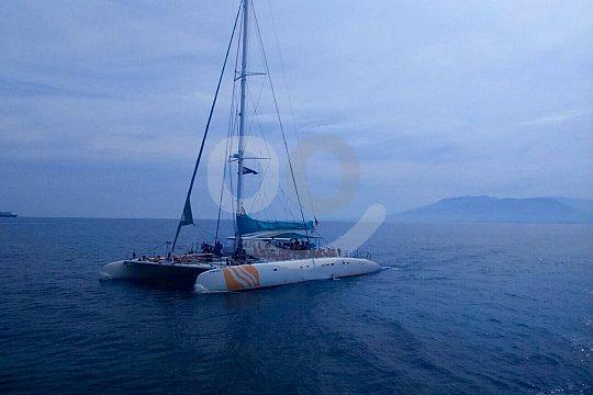 Departure to sunset catamaran tour from Dénia