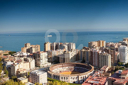 guided city tour in Malaga