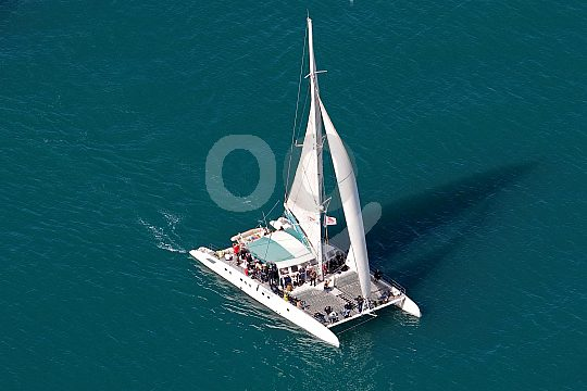 the catamaran off Malaga