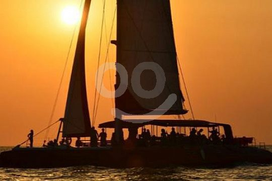 Dénia sunset catamaran tour