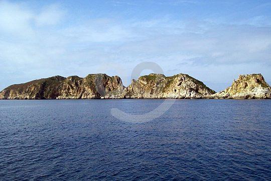 Malgrats islands on the boat trip from Santa Ponsa