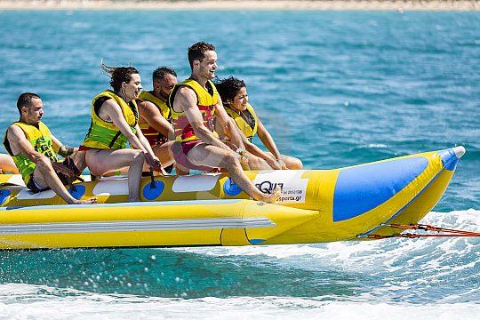 Banana boat ride in Arenal