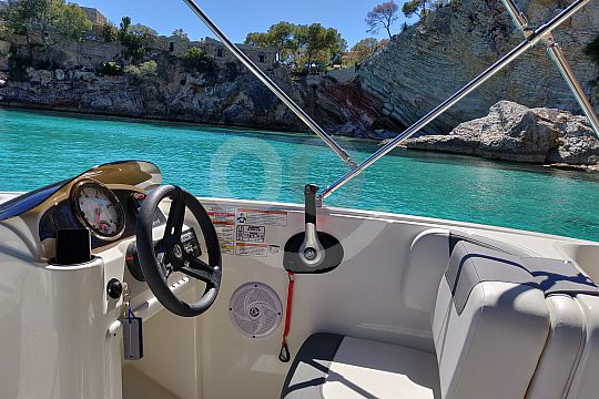 Mallorca boat hire without licence