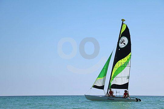 set the sails in Mallorca