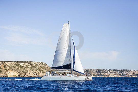 Mit dem Katamaran über das Mittelmeer auf Mallorca
