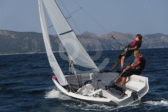 dinghy sailing course Mallorca