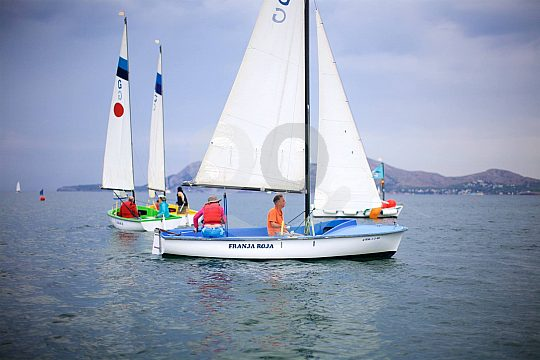 introductory sailing course Mallorca