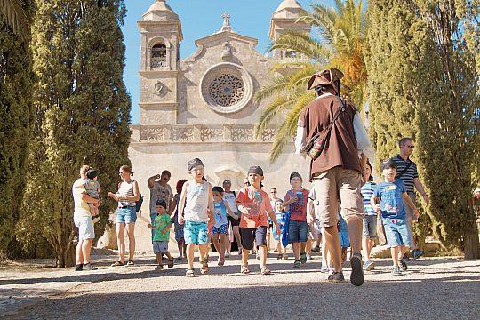 Schatzsuche mit Kindern auf Mallorca