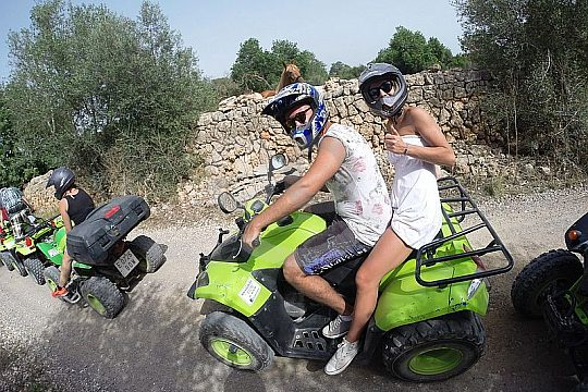 adventurous quad tour Playa de Palma