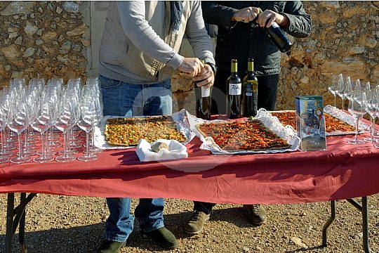 wine tasting with tapas in Mallorca