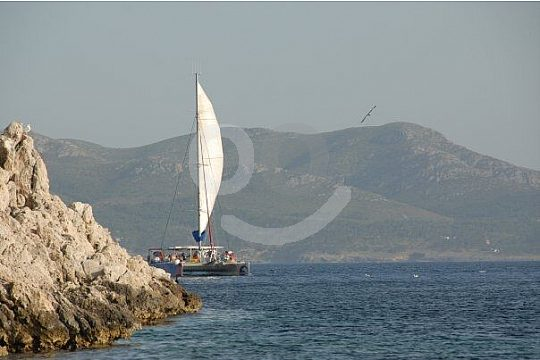 Pollensa catamaran tour in the morning