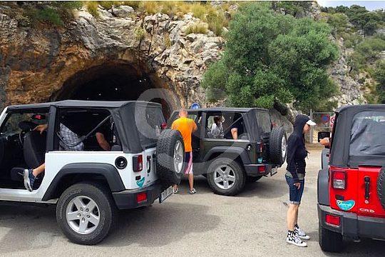 enjoy a private jeep safari on Majorca