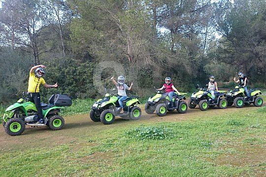 mallorca arenal off-road quad tour
