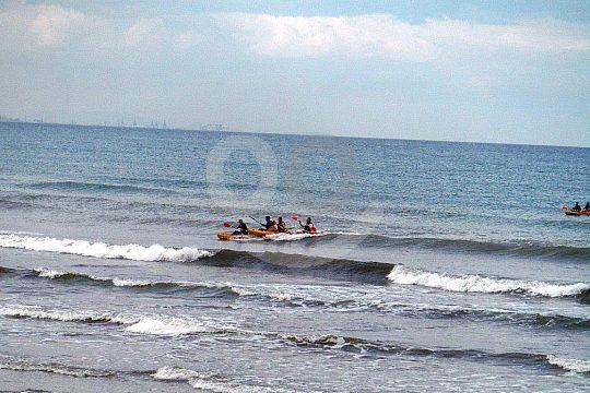 Malvarrosa by kayak