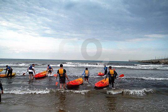 Valencia kayaking
