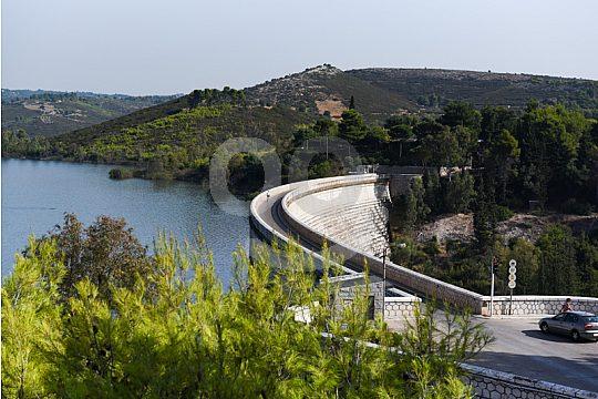 Marathon Dam and -Lake Attica