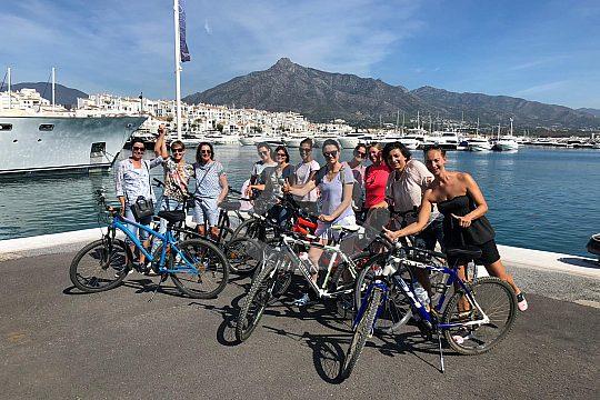 Fahrradtour mit Freunden