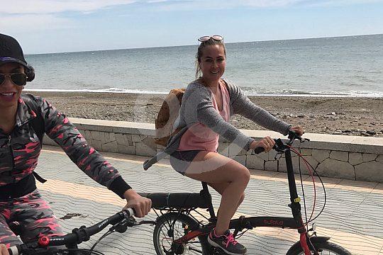 Marbella Radtour am Strand