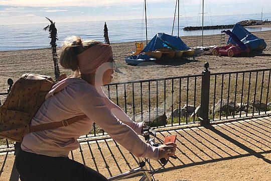 Aktiv beim Sightseeing in Marbella